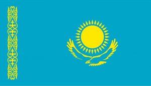 kazakistan bayrak